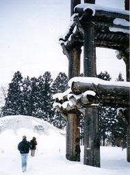 Sannai Maruyama in Winter